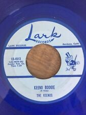 MONSTER RARE SPOOKY ROCKABILLY SURF INSTRU 45 rpm THE KEENOS on Lark CATWALK NM-