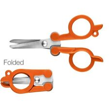 "Fiskars 4"" Compact Folding Scissors #01-005434"