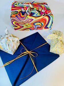 Reusable Gift Wrapping Fabric Furoshiki Style- Eco Friendly/Reusable-OEKO-TEX