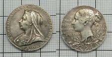 Commemorative issue Silver 60th Anniversary of the Accession of Queen Victoria,