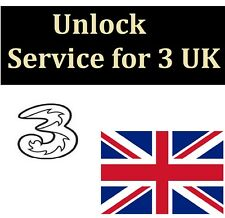 3 THREE Hutchison UK Unlock service code FOR iPhone 7 plus 7 6 6s 5S 5 5c 4