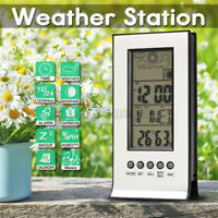 In/Outdoor Digital LCD Wireless  °C/°F  Weather Station Calendar Alarm