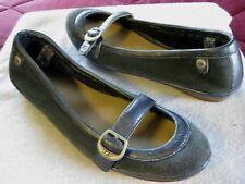 ae36af4858d UGG Sheepskin Lined Sides Gray Slip On Shoes Flats Loafers Size 8