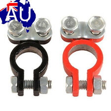 2PCS Auto Car Vehicle Replacement Battery Terminal Clamp Clip Alloy Connector AU
