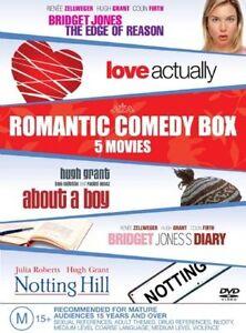 ROMANTIC COMEDY BOX 5xDVDs, R4, As New, Bridget Jones/About A Boy/Notting Hill