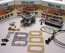 Isuzu Pickup and I-mark 1.8 Genuine Weber Carb Conversion Kit - manual choke