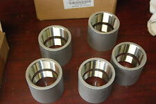 """Merit Brass K411-32, 2"""" Coulping, 304 Stainless Steel lot of 5 New"""
