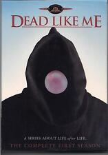 Dead Like Me - 1st Season complete 4 DVD set - Stewart Copeland music Police