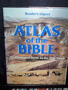 Reader's Digest  Atlas of the Bible: An Illustrated Guide to the Holy Land - HCD
