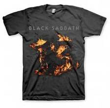BLACK SABBATH - Flames (13 Cover) T-shirt - NEW - LARGE ONLY