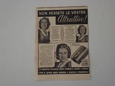 advertising Pubblicità 1940 SAPONE PALMOLIVE