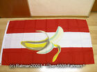 Fahne Flagge Österreich Bananenrepublik - 90 x 150 cm