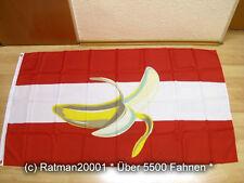 Fahnen Flagge Österreich Bananenrepublik - 90 x 150 cm