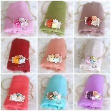 Baby Newborn Cheesecloth Wrap Headband Girl Photography Photo Prop