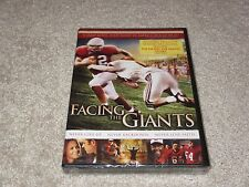 ☀️ NEW FACING THE GIANTS DVD 2007 Special Collector's Edition Never Lose Faith