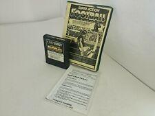Super Action Football (SOCCER)  Colecovision W/Copied Manual Telegames Box P37