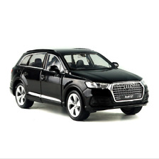 Audi Q7 Model Cars Toys 1:36 Collection&Gifts Open two doors Black Alloy Diecast