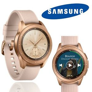 Samsung Galaxy Watch R810 Smart Watch Fitness Heart Rate Rose Gold Pink