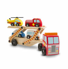 Melissa and Doug # 4610 Emergency Vehicle Carrier. BRAND NEW FREE SHIPPING