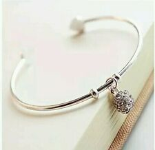 #3011 Female temperament Korean simple imitation diamond ball bracelet
