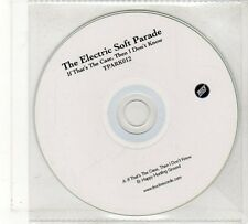 (FU880) The Electric Soft Parade, If That's The Case Then I Don't Know - DJ CD
