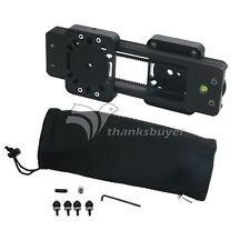 """Video Mini Slider Shooting DSLR Camera Slider 9"""" Dual Travel Distance Fosicam"""