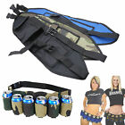 6 Pack Beer Coke Can Waist Belt Holder Carrier For Home Party Outdoor Hiking