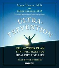 Ultra prevention 6-Week Plan Make You Healthy for Life Mark Hyman MD Audiobook
