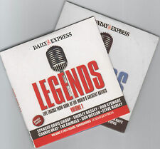 LEGENDS: LIVE TRACKS FROM SOME OF THE WORLD'S GREATEST ARTISTS – 2 PROMO CDs