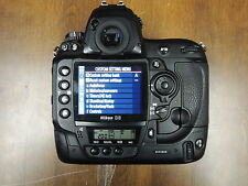 Nikon D3 Camera Used Body bundle with 1 Battery & Cover <40K Clicks