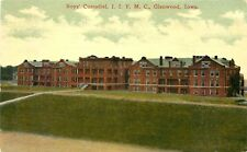 GLENWOOD, IOWA, BOYS' CUSTODIAL, I.I.F.M.C, VINTAGE POSTCARD