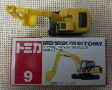 Classic Vintage Tomica Tomy Komatsu Power Shovel Pc200 Galeo No.9 with Box