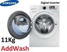 Samsung 11kg Front Load Washing Machine AddWash Smart WiFi Inverter WW11K8412OW