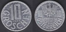 AUTRICHE   10 GROSCHEN 1987   FDC / UNC