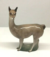 Llama Royal Doulton Animal Figurine. brown, White Green. Height: 6.5'' 1960-69