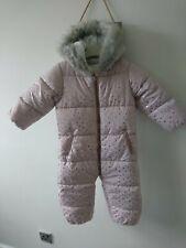 Next baby girl snowsuit 12-18 months BNWT