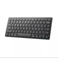 Anker Bluetooth Ultra-Slim Keyboard for Android & Apple Tablets Black