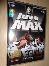 DVD N°3 JUVE AL MAX FC JUVENTUS CAMPIONE D'ITALIA 2014/2015 OFFICIAL PRODUCT
