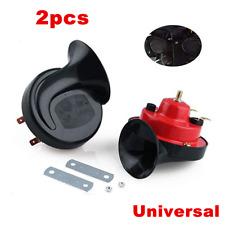 2x Loud Dual-tone Snail Horn Universal Electric Air Horn 12V 105 dB Car Truck