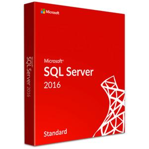 Microsoft SQL Server 2016 Standard 24 Cores Unlimited User CALs