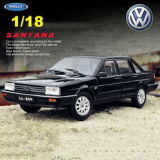 WELLY 1:18 Scale Volkswagen SANTANA VW Diecast Model Cars Toys Black Collectible