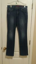 Banana Republic Limited Edition Straight Leg Size 4 Distressed Medium Wash Jeans