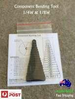 Resistor Component Lead Bending & Forming Tool 1W 1/2W 0.5W 1/4W 0.25W 1/8W