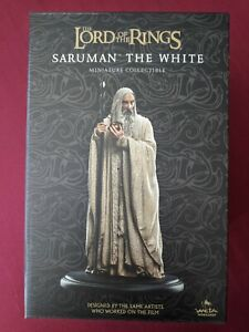 Lord of the Rings - SARUMAN THE WHITE (2020, WETA Workshop) Brand New!