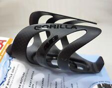 XLab Gorilla Carbon Fiber Rear Bicycle Water Bottle Cage Mount Matte Black 10lb