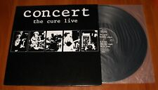 THE CURE LIVE CONCERT LP *RARE* ORIGINAL GREEK 1st PRESSING VINYL POLYGRAM 1984