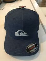 Quiksilver Mountain And Wave Flexfit Hat - Men's - S/M, Coastal Edge