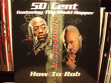 """50 CENT - HOW TO ROB / ROWDY ROWDY (12"""")  1999!!!  RARE!!!  MADD RAPPER!!!"""