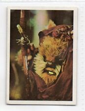 "STAR WARS ""EL RETORNO DEL JEDI"" SPANISH TRADING CARD BY PACOSA DOS - NUMBER 162"