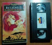 IL RE LEONE II, IL REGNO DI SIMBA -VIDEOCASSETTA  VHS WALT DISNEY-N.74